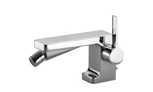 Single-lever bidet mixer with drain - polished chrome 33 600 710-00 Dornbracht