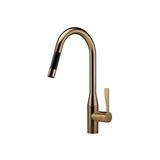 Single-lever mixer pull-down with spray function - Dark Brass matte 33870895-160010 Dornbracht