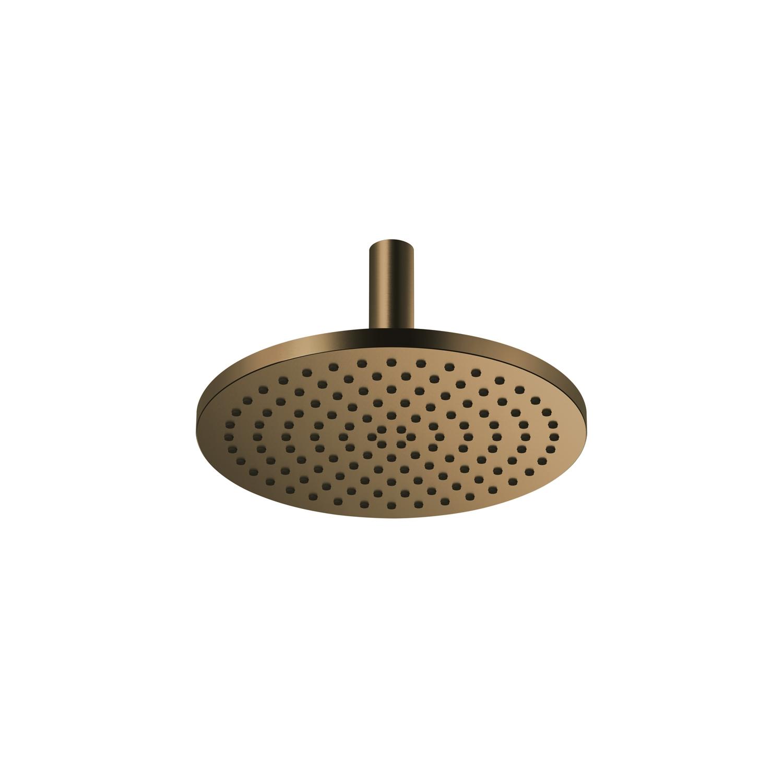 Rain Shower With Ceiling Fixing Dark Brass Matt