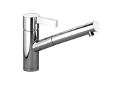 Single-lever mixer with pull-out spout - polished chrome 33840760-000010 Dornbracht