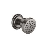 Body spray without volume control - Dark Platinum matte 28518360-99 Dornbracht