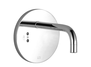 Infrared washstand wall regulator without temperature control knob without drain - polished chrome 36 751 850-00 Dornbracht